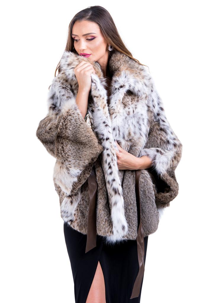 Haina de blana de linx model fluture , 007R , LINX , Carolina Design